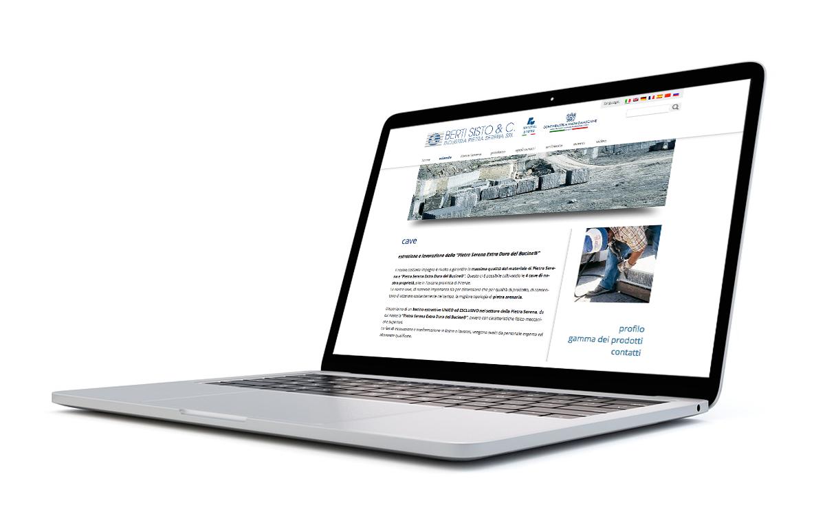 portatile berti sisto web project
