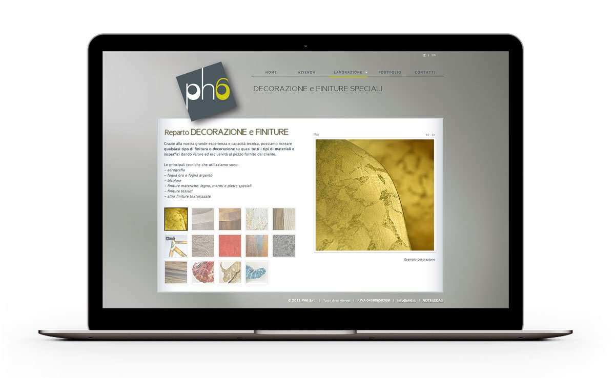 portatile ph6 web project