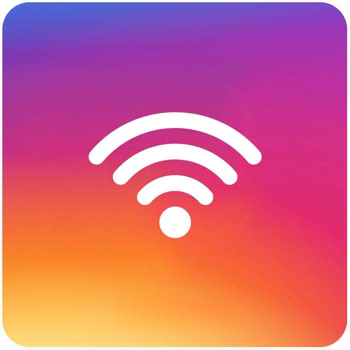 connessione instagram