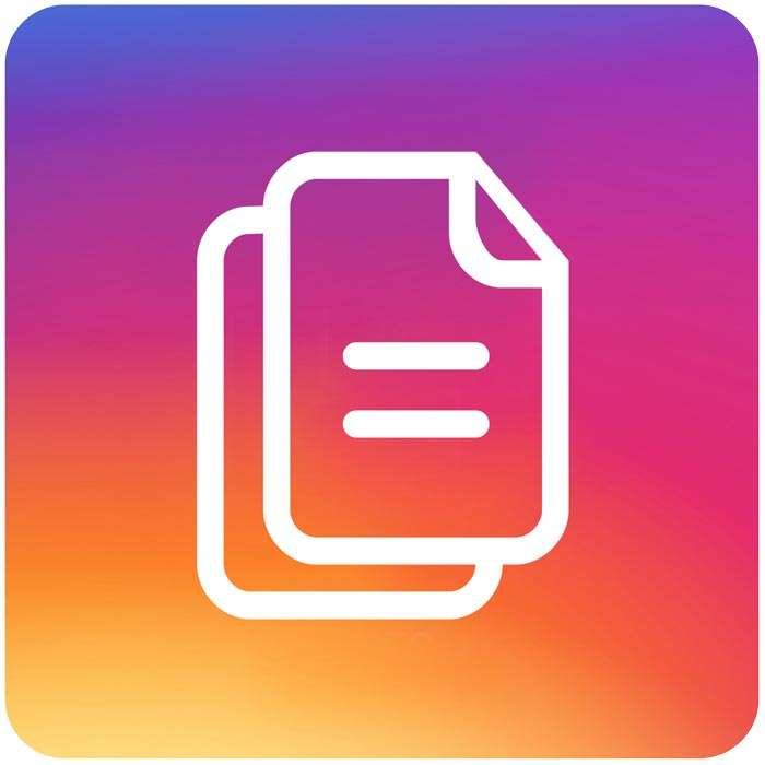 contenuto instagram
