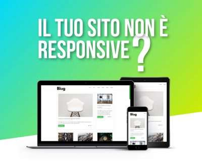 sito responsive newsletter imagina web agency treviso