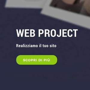 Web project: progettazione e realizzazione siti internet