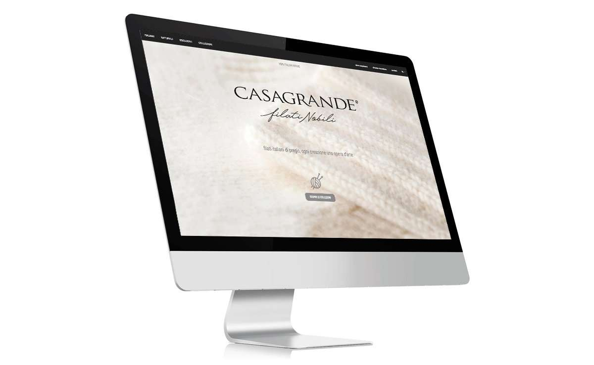 website casagrande studio imagina