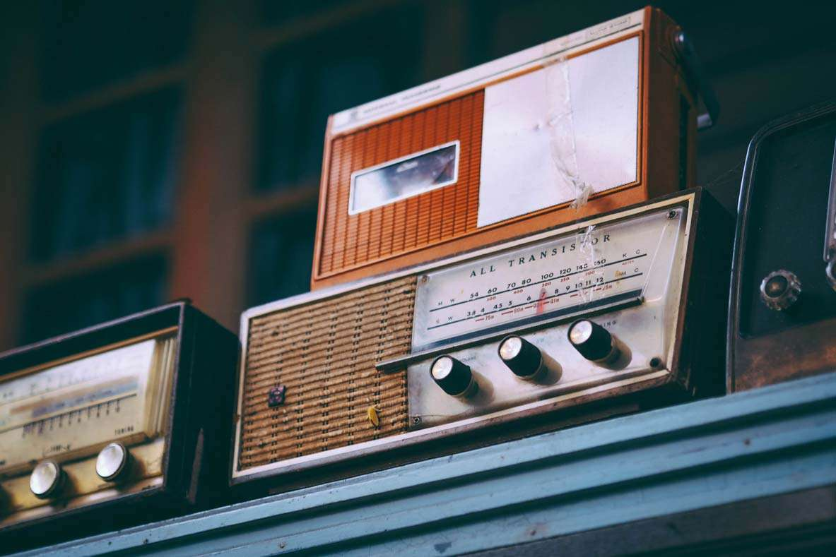 radio old studio imagina