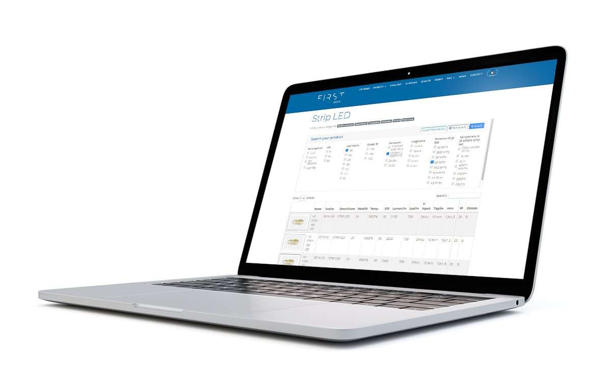 First Group website portatile